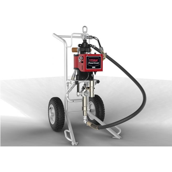 Pompa pneumatica Titan PowerCoat 960, raport presiune 60:1