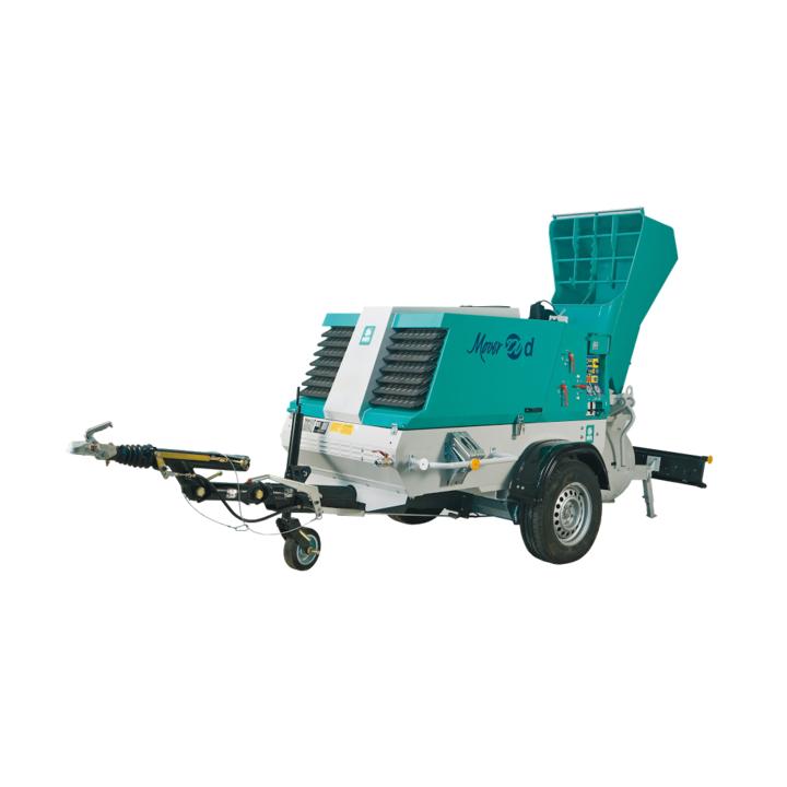 Pompa sapa Imer Mover 270DBR, remorcabila, motor Kubota