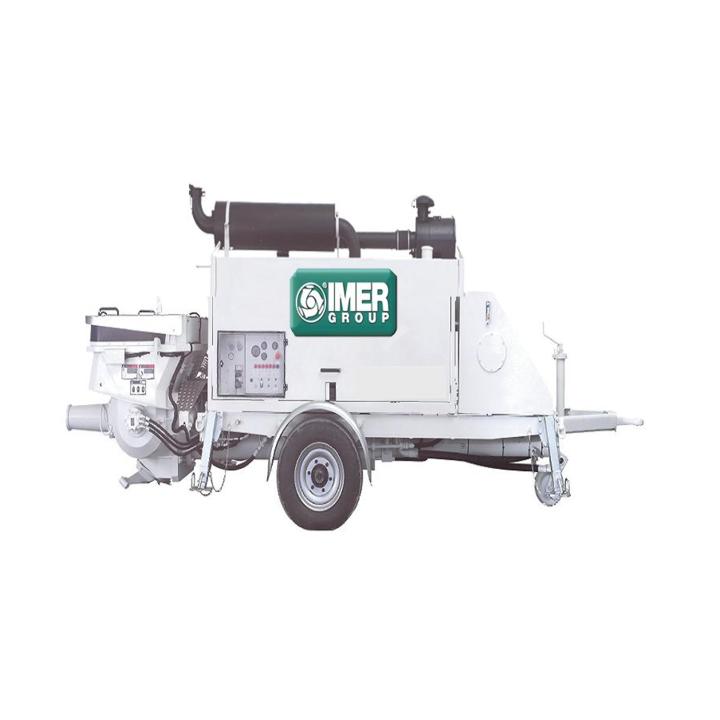 Pompe beton THP 70D, motor Deutz, putere motor 95 Kw
