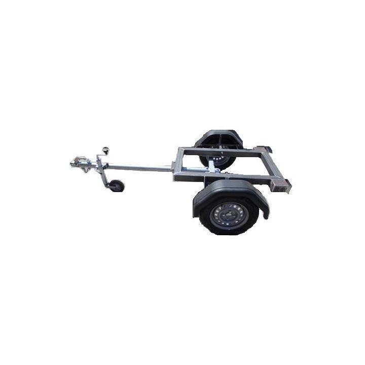 Remorca pentru generator ERG 3500 cu protap reglabil