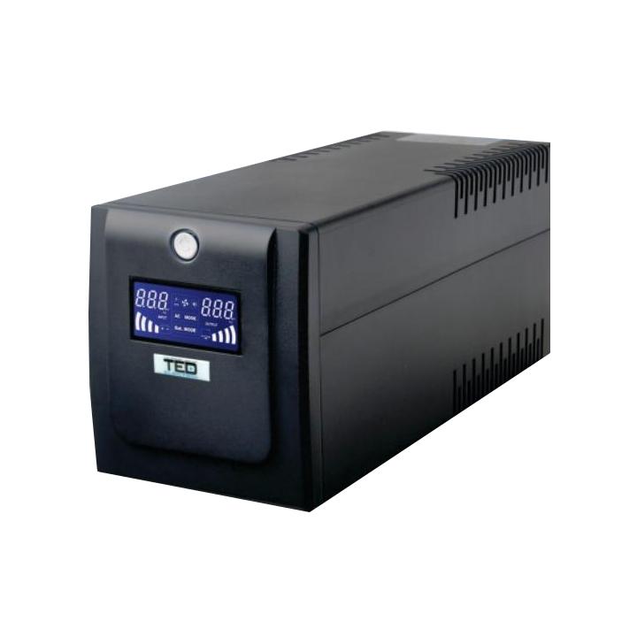 UPS TED-1000VA cu AVR, Line Interactive
