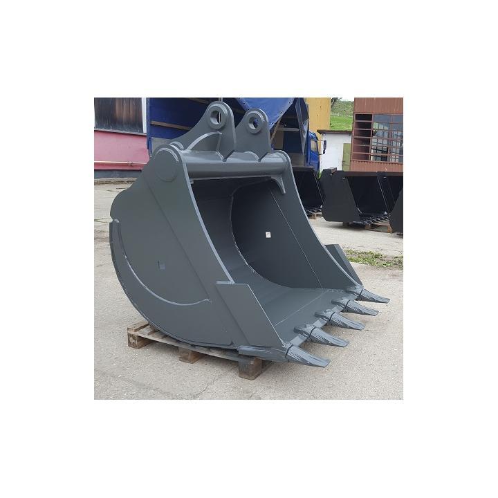 Cupa excavator hardox pentru cariere si balastiere