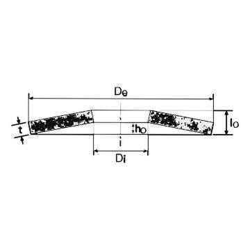 Saiba elastica arcuita 60x30,5x3