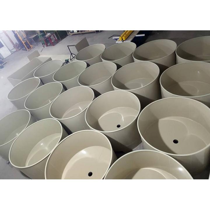 Bazine piscicole circulare