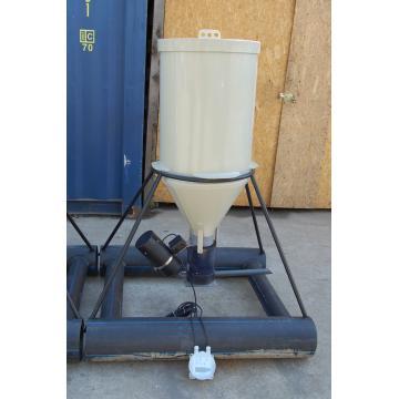 Dispersor automat de hrana pesti