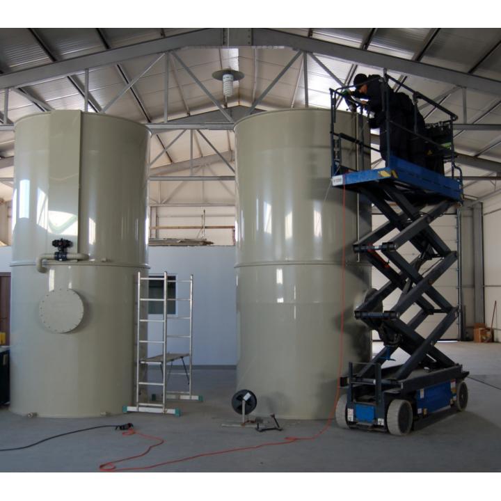Rezervoare pentru mixaj din polipropilena