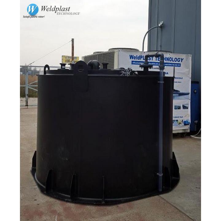 Rezervoare stocare acid concentratie 99%
