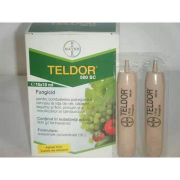 Fungicid Teldor 500 SC - 10 ml. (G)