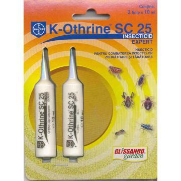 Insecticid piretroid K-Othrine SC 25 - 10 ml.
