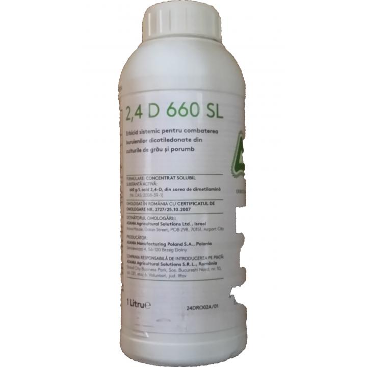 Erbicid Sare de amina 2.4D 660SL 1litru