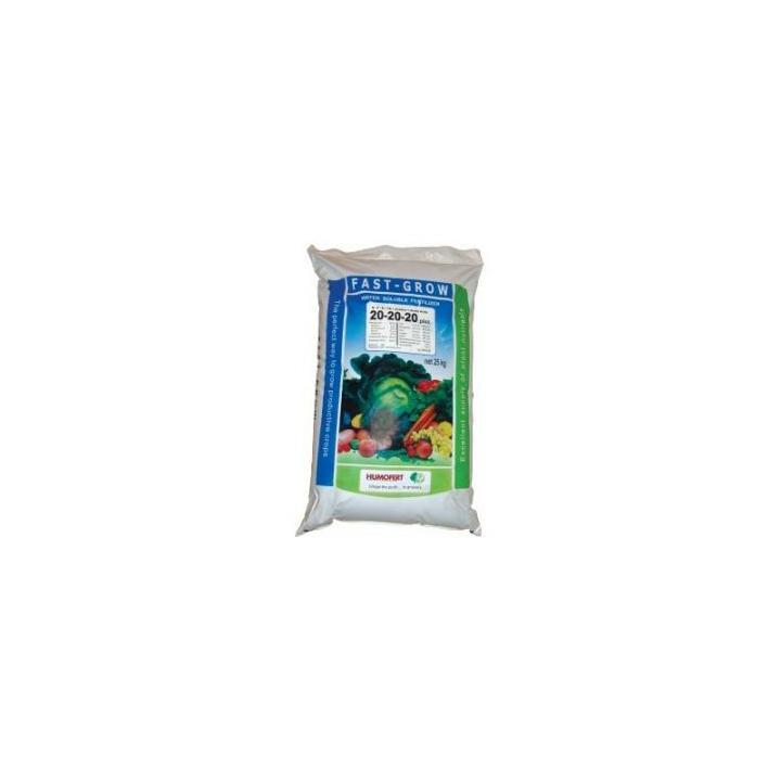 Ingrasamant Fast Grow plus 20-20-20+ Aminoacizi+ alge marine