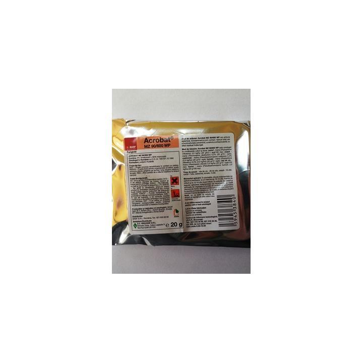 Fungicid Acrobat MZ 90 600 WP 20gr