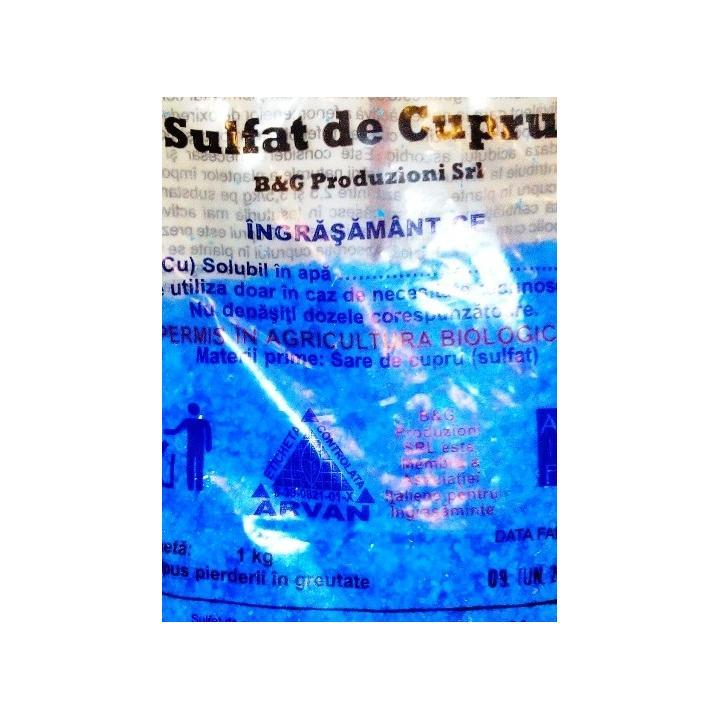 Sulfat de cupru 1kg