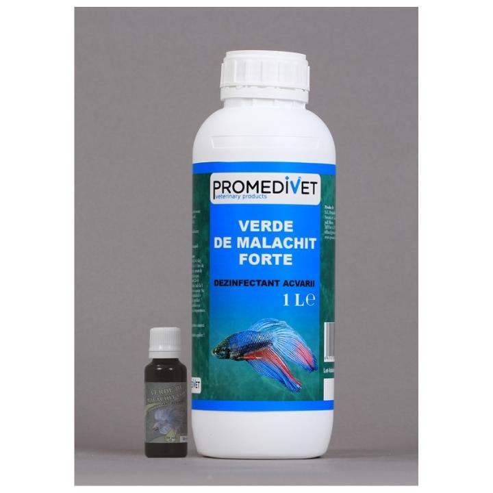 Dezinfectant acvarii Verde de malachit Forte