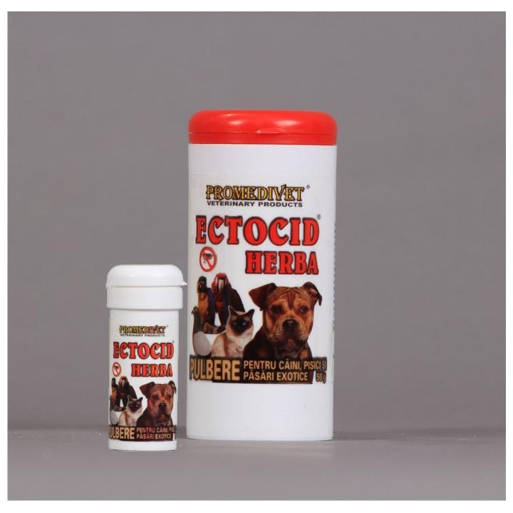 Pulbere antiparazitara Ectocid Herba