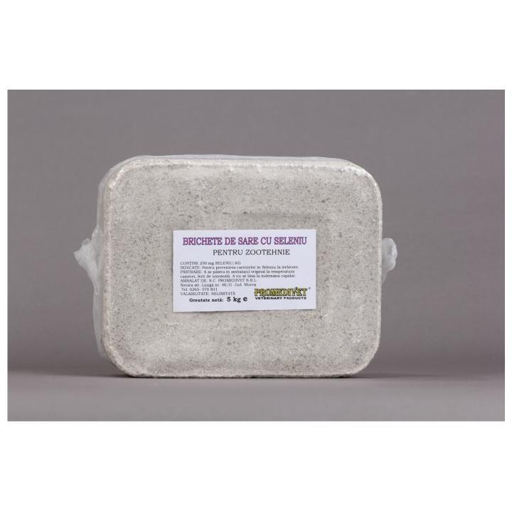 Brichete de sare cu seleniu