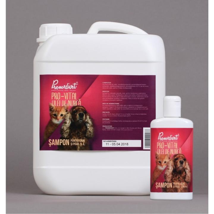 Sampon cu ulei de nurca pentru caini si pisici Pro-Vital