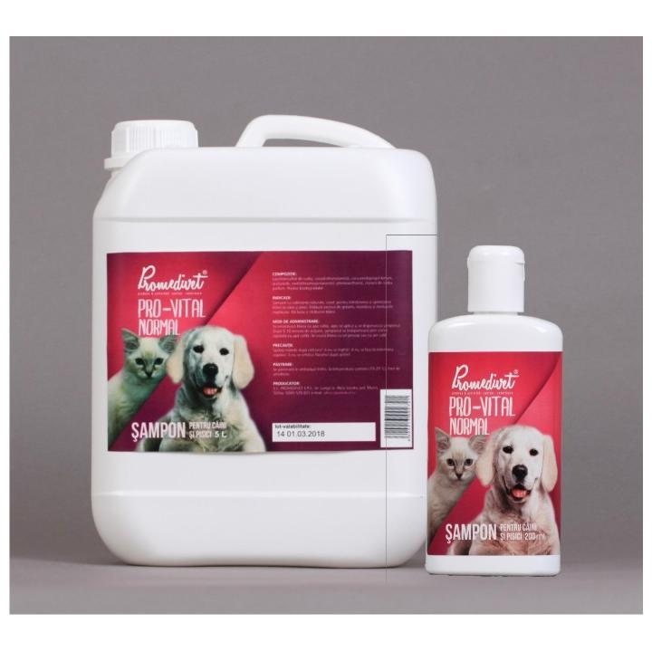 Sampon normal pentru caini si pisici Pro-Vital