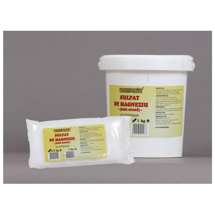 Sulfat de magneziu (sare amara)