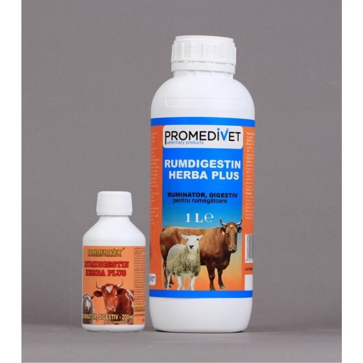 Supliment nutritiv uz veterinar Rumdigestin Herba-Plus