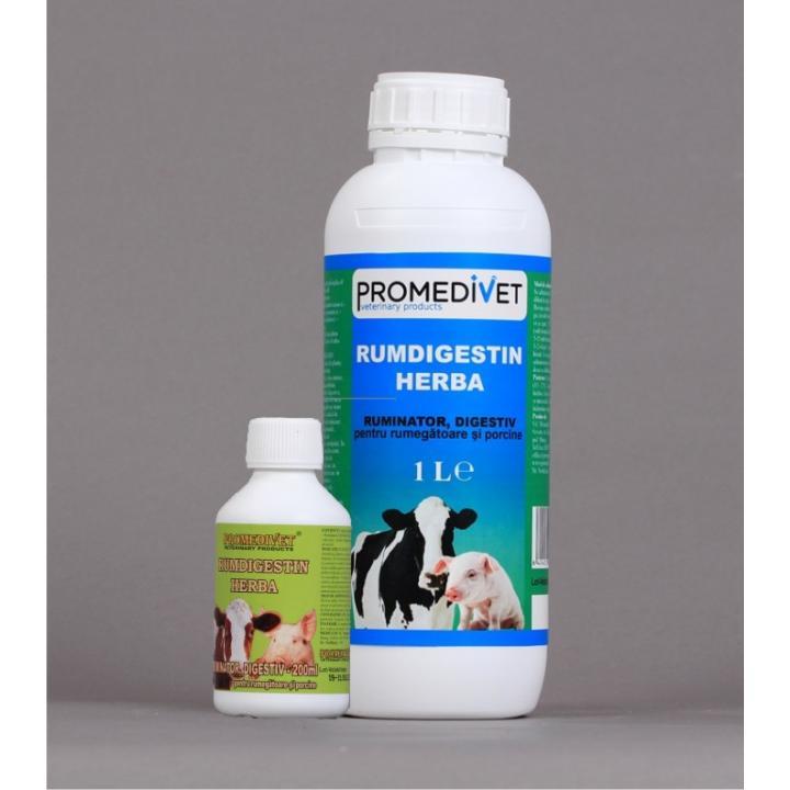 Supliment uz veterinar Rumdigestin Herba