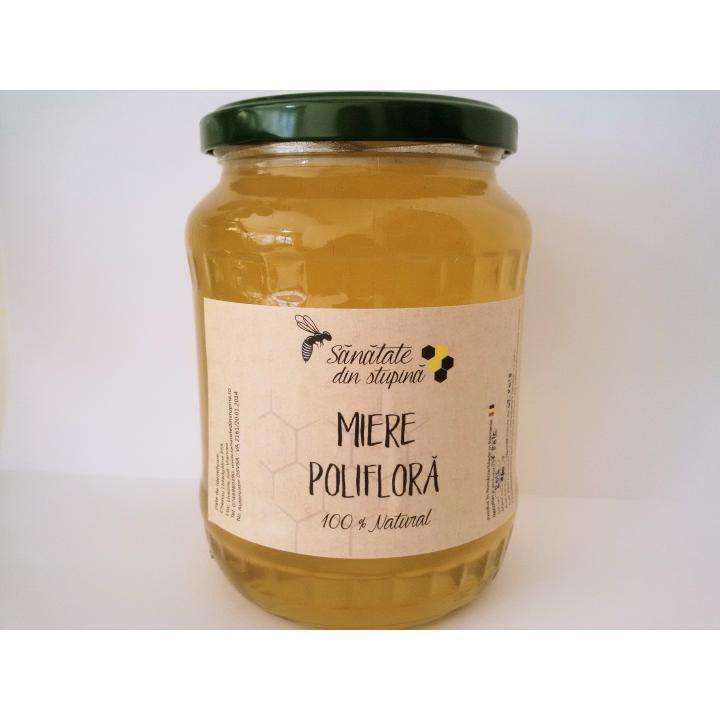 Miere naturala de albine sortiment poliflora de munte