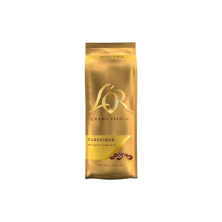 Cafea boabe L'Or Crema Absolut Classique, 500 g