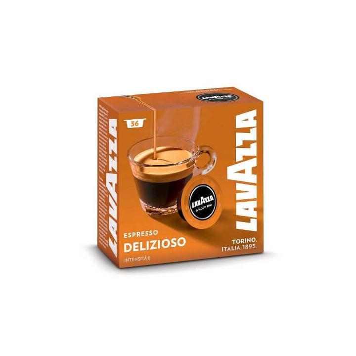 Capsule cafea Lavazza A Modo Mio Delizioso, 36 capsule