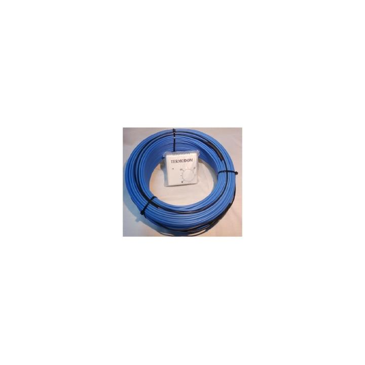 Cablu incalzire + termostat pentru sere (100 ml~12 mp)