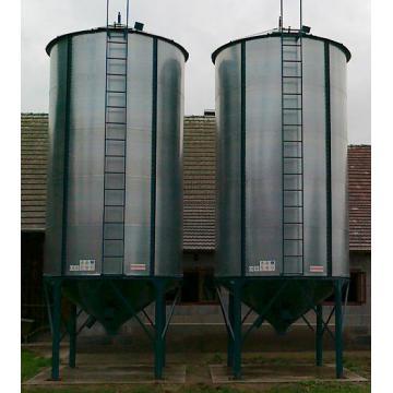 Siloz pentru peleti, cereale si furaje capacitate 22 tone