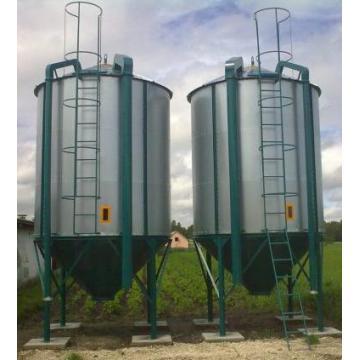 Siloz pentru peleti, cereale si furaje capacitate 14 tone