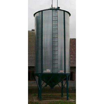 Siloz pentru peleti, cereale si furaje capacitate 18 tone
