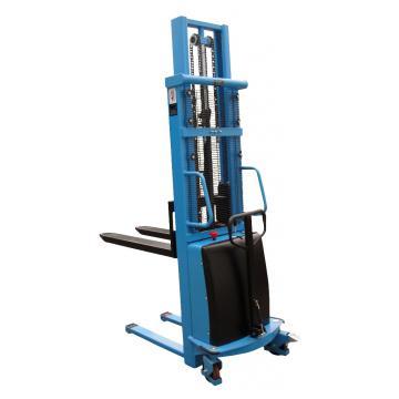 Stivuitor electric pietonal HaBa15HHE30, 1500kg, 3m