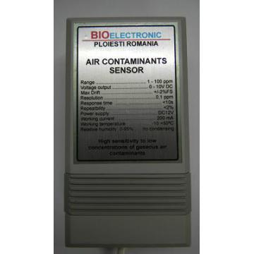 Senzor masurare contaminare aer