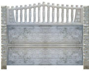 Garduri cu fundatie beton