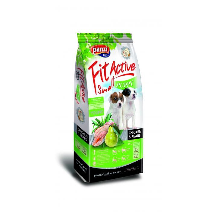 Hrana caini FitActive Puppy Small - Chicken&Pears