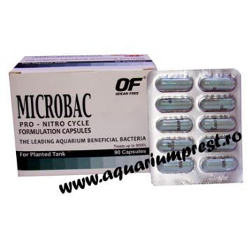 Bacterii benefice acvariu Microbac folie cu 10 capsule
