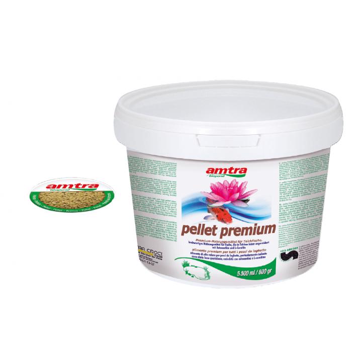 Hrana crapi koi Amtra Pellet Premium 5500 ml