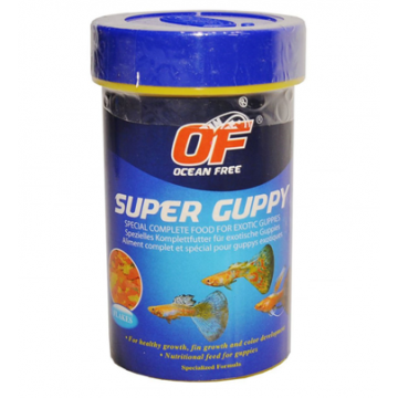 Hrana pesti acvariu Ocean Free Super Guppy 110ml