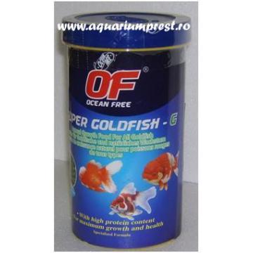 Hrana pesti Ocean Free Super Goldfish Growth 280 ml