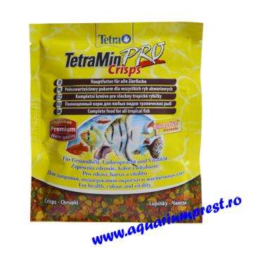 Hrana pesti Tetra Min Pro Crisps plic 12 gr