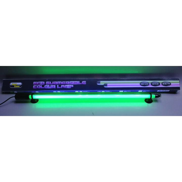 Lampa fluorescenta submersibila 60 cm verde