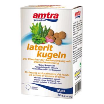 Minerale si fier pentru plante acvatice Amtra Laterit Kugeln
