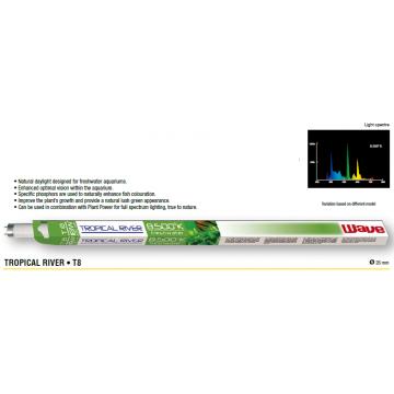 Neon acvariu Tropical River 8500K T8 18W