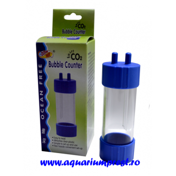 Dispozitiv numarat bule din plastic Smart CO2 Bubble Counter