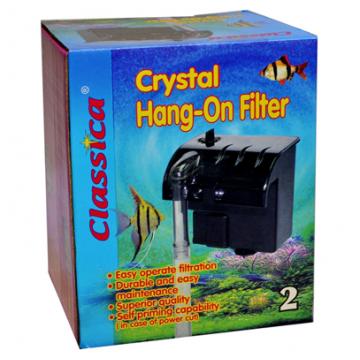 Filtru cascada acvariu Crystal Hang On Nr.2