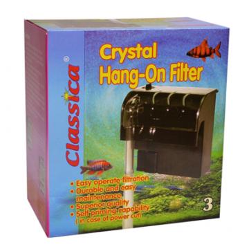 Filtru cascada pentru acvariu Crystal Hang On Nr.3