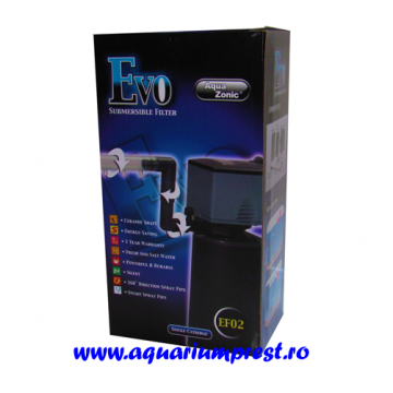 Filtru intern acvariu Evo2 submersible filter EF-02