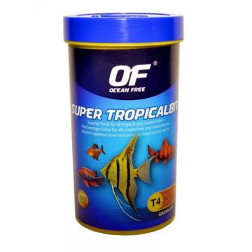 Hrana granulata pesti Ocean Free Super Tropicalbit 110 ml