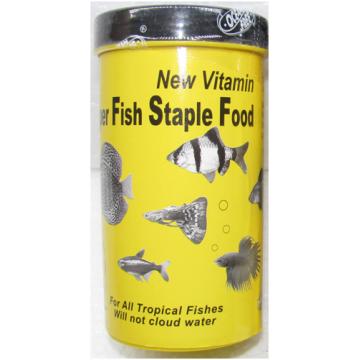 Hrana pesti exotici New Vitamin Super Fish Staple Food 550ml